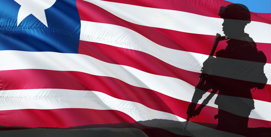 Armed Forces Day in Liberia in 2020