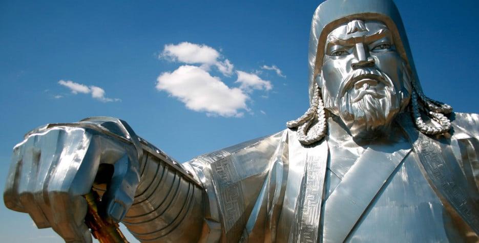 Genghis Khan's birthday in Mongolia in 2019