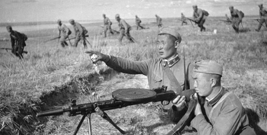 Battle of Khalkhiin Gol in Mongolia in 2020