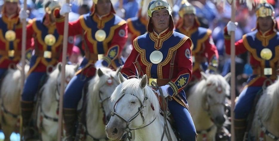 Naadam in Mongolia in 2021