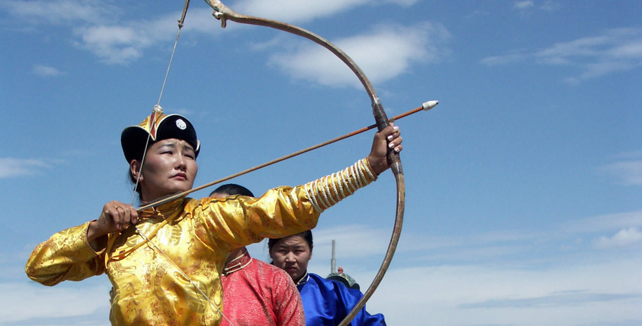 Naadam Holiday in Mongolia in 2020