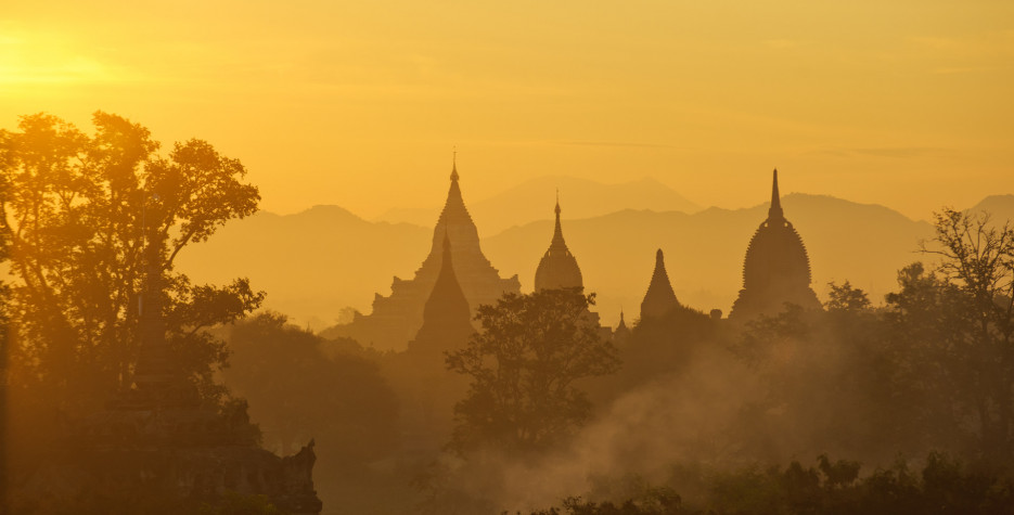 Burmese New Year in Myanmar in 2020