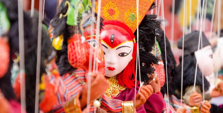 Gaijatra in Kathmandu Valley in 2020