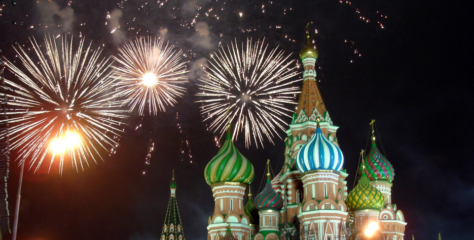 New Year's Day in Russia in 2020