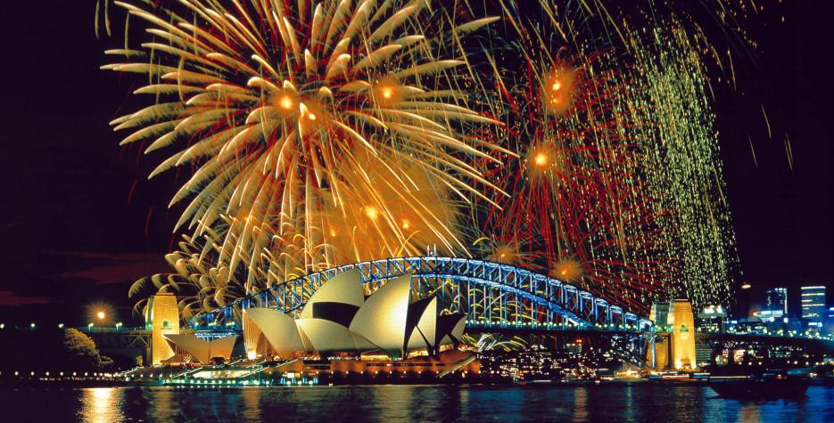 New Year's Day in Australia in 2020