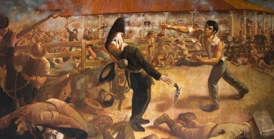 Battle of San Jacinto in Nicaragua in 2020