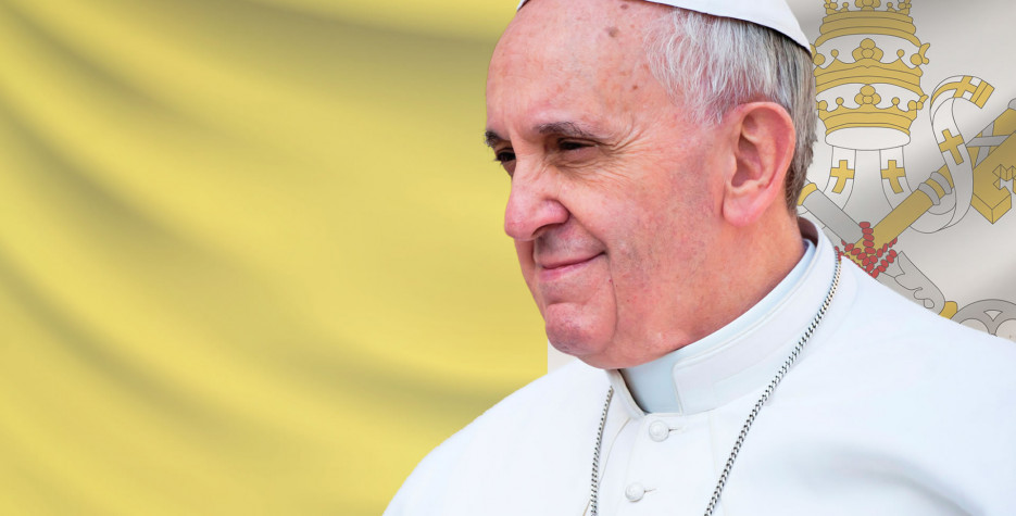 Anniversary of the election of Pope Francis in Vatican City in 2021