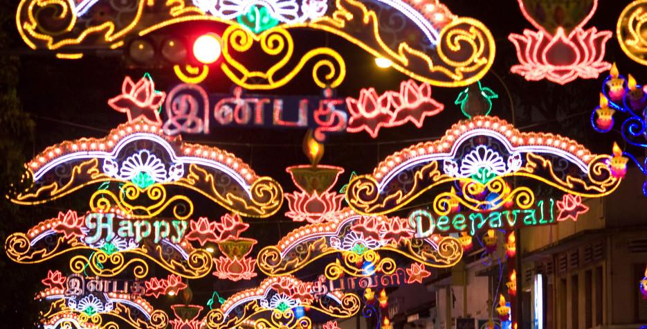 Deepavali in Singapore in 2019