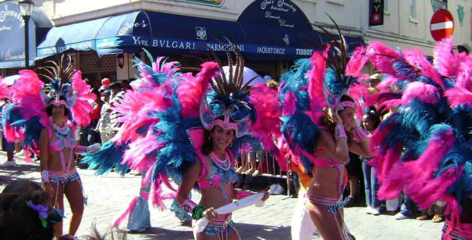 Carnival Day in Sint Maarten in 2021
