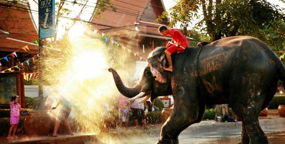 Songkran in Thailand in 2022