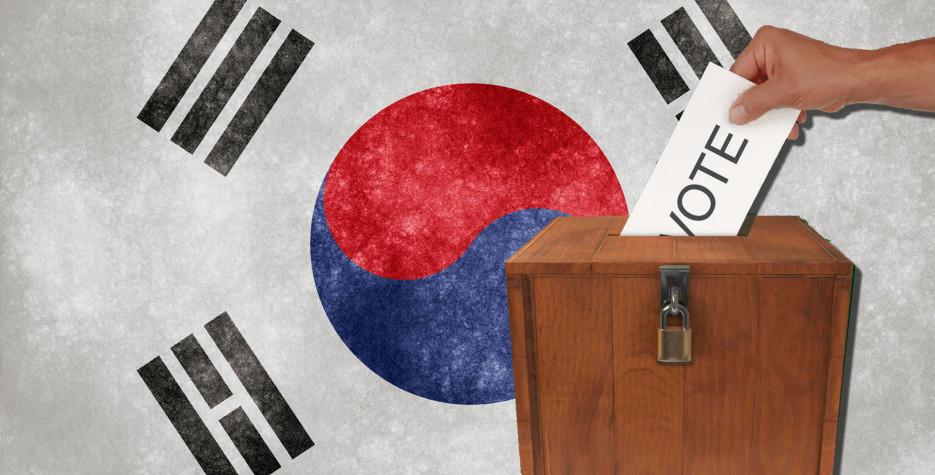 Legislative Election Day in South Korea in 2020