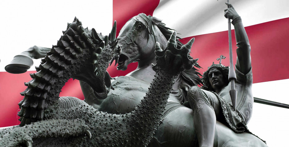 St. George's Day in England in 2021
