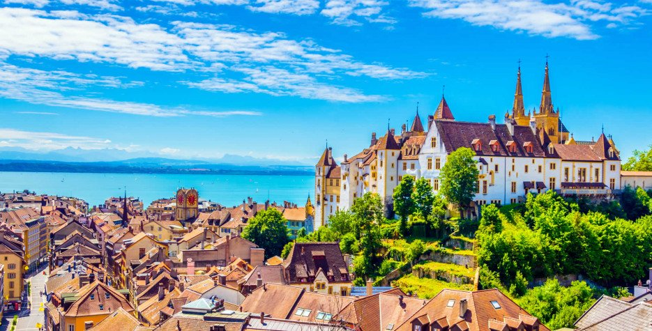 Republic Day in Neuchâtel in 2021