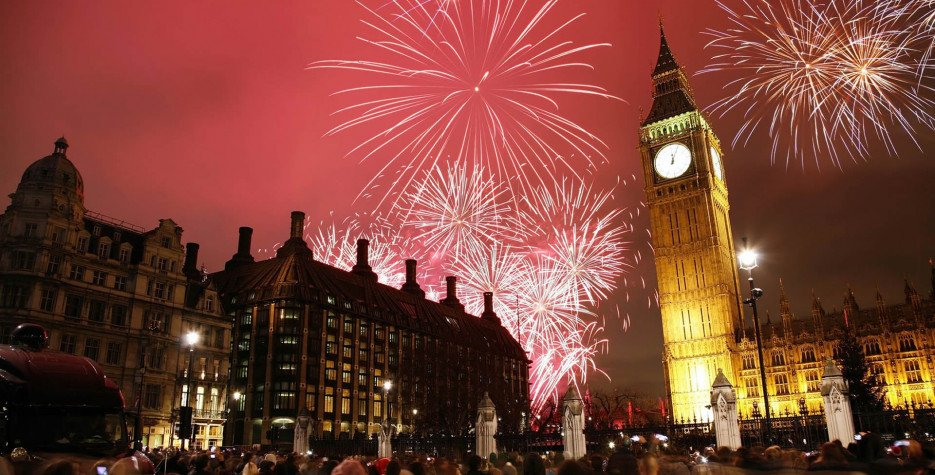 New Year's Day in United Kingdom in 2020