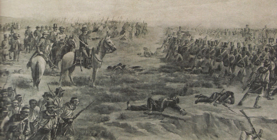 Battle of Las Piedras in Uruguay in 2020