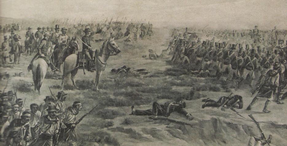 Battle of Las Piedras in Uruguay in 2021