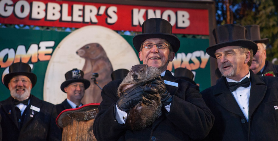 Groundhog Day in USA in 2020