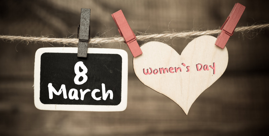 International Women's Day around the world in 2021 by Day