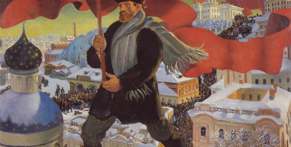 October Revolution Day in Belarus in 2019
