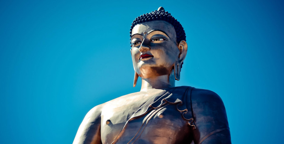 Descending Day of Lord Buddha in Bhutan in 2020