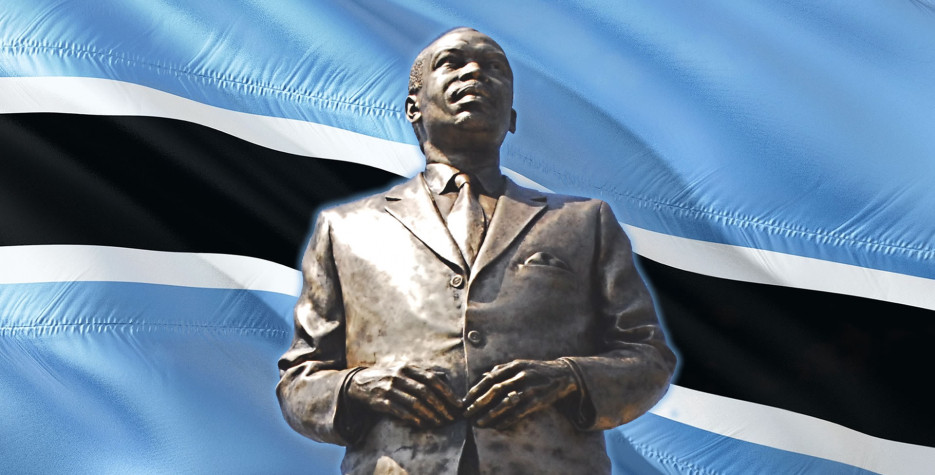 Sir Seretse Khama Day in Botswana in 2020