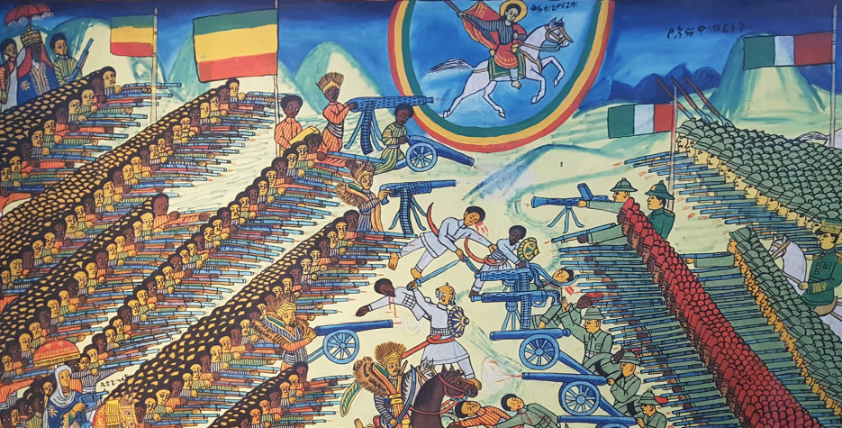 Victory of Adwa in Ethiopia in 2020