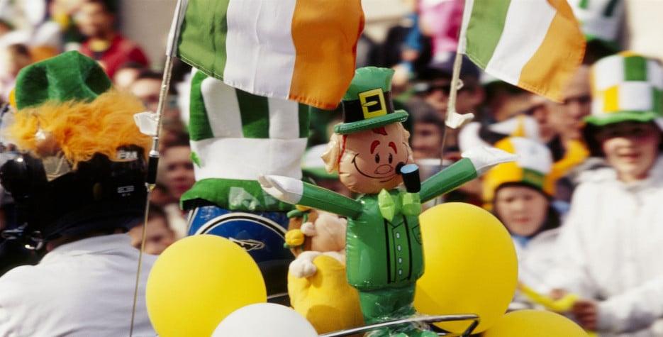 St. Patrick's Day in Ireland in 2020
